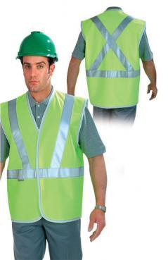 Hi Vi waistcoat Class B 2 Pistachio